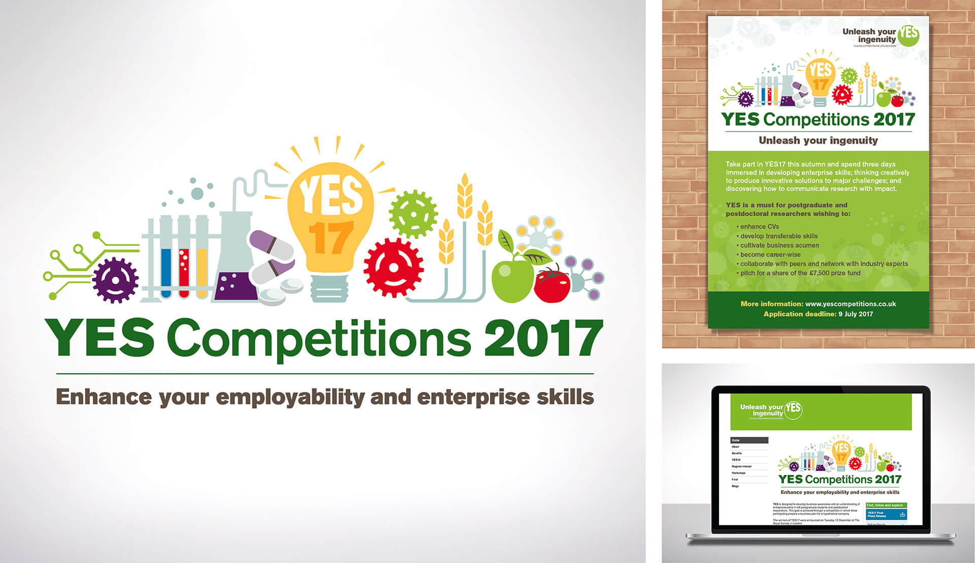 THE UNIVERSITY OF NOTTINGHAM / YES COMPETITIONS